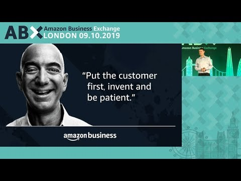 amazon.co.uk & Amazon Promo Codes video: ABX - Session 5 - Working Backwards: applying Amazon innovation best practices to procurement