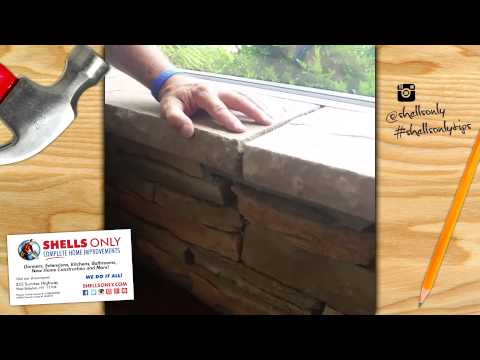 Natural Stone Ledger | Fifteen Second Tips by Shells Only