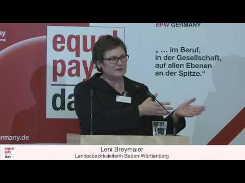 Leni Breymaier | Equal Pay Day Forum am 10.11.2015 in Frankfurt am Main