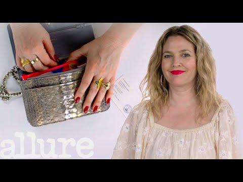 Drew Barrymore's Bag Tour   Allure