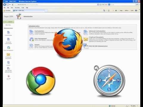 Multi Browser Support for GUMU Sage CRM Sage 100 ERP Integration