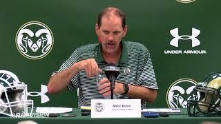 Mike Bobo -- Press Conference, Aug. 27