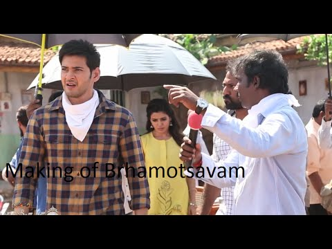 Brhamotsavam-Movie-Making