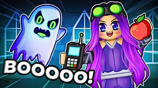 GHOST HUNTING IN ROBLOX...