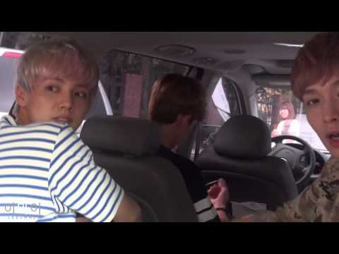 Luhan lay & chen In the car + Lay EYE CONTACT 14.8.2013