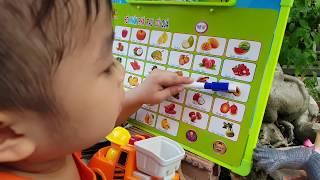 Trò Chơi Bảng Học Tên Cho Bé ❤ ChiChi ToysReview TV ❤ Đồ Chơi Trẻ Em Baby Doli