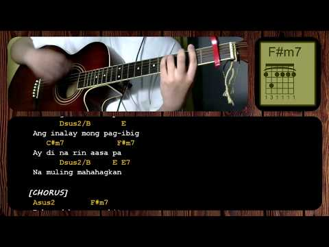 Dahan by December Avenue/Jireh Lim -GUITAR CHORDS - ACOUSTIC ...