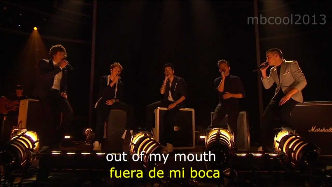 Little Things - One Direction - X Factor USA - Lyrics sub español - YouTube