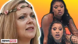 Carole Baskin HATES On Cardi B's 'WAP' Music Video!