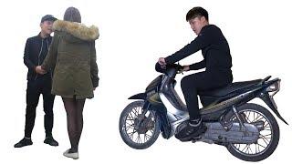 NTN - Trả Thù Người Yêu Cũ Vì Bị Chê Nghèo Đi Xe Ghẻ (Use my old bike to challenge a girl)