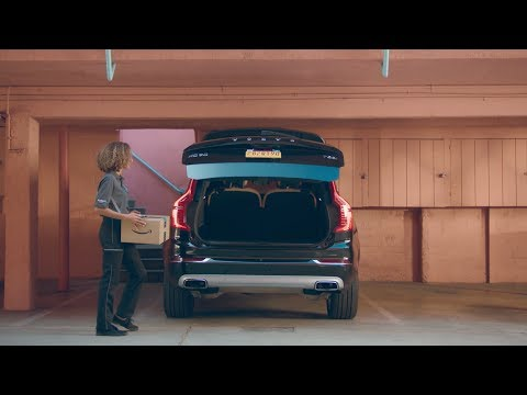 Amazon partners with Volvo and General Motors to provide in-car deliveries