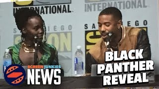 Black Panther Exclusive Comic Con Secrets Breakdown! - SDCC 2017