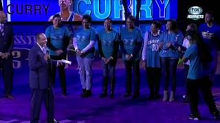 Hornets honor Dell Curry
