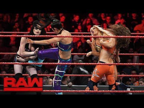 Bayley & Mickie James vs. Paige & Mandy Rose: Raw, Dec. 11, 2017