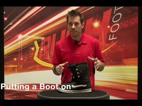 Putting a Boot on your RUSH™ Foot