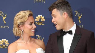 Scarlett Johansson and 'SNL's Colin Jost Engaged After Two Years of Dating