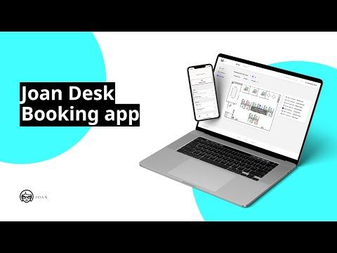 How Joan Desk Booking app works