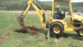 Terramite T9 Compact Tractor Loader Backhoe Diesel 10' Dig Kubota For Sale Mark Supply Co