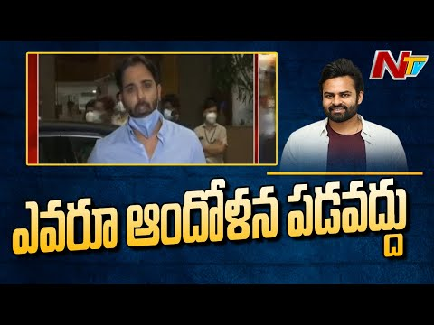 Actor Tarun comments on Sai Dharam Tej's health condition