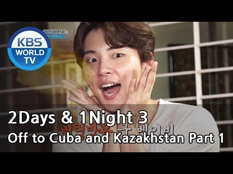 2Days & 1Night Season3 : 10-Year Anniversary They're off to meet fans abroad. [ENG/THA/2018.1.14]