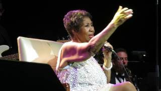 Aretha Franklin Natural Woman @ Mohegan Sun 3-23-17