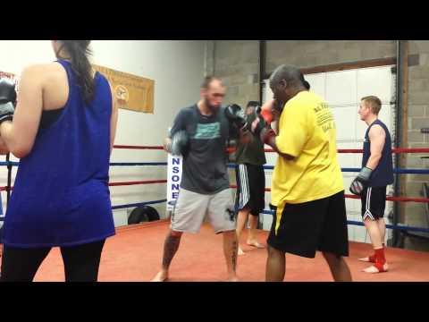 Nak Muay training at ICAT-MMA.