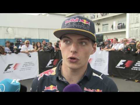 War Of Words: Verstappen, Vettel And Ricciardo | Mexico Grand Prix 2016