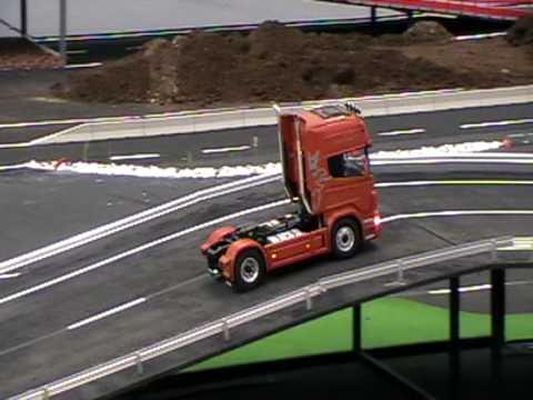 concentracion de camiones rc en Tordesillas junio 2009