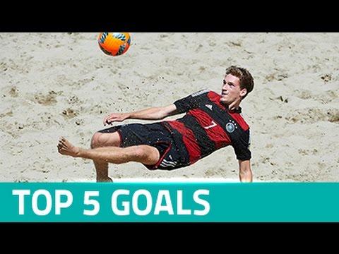 TOP 5 GOALS - Euro Beach Soccer League Siófok 2016