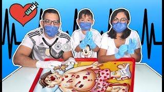 Somos Doctores   Jugamos Operando    Family Juega