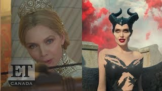 Angelina Jolie Faces Off With Michelle Pfeiffer In 'Maleficent' Trailer