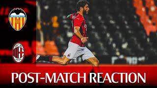 #ValenciaMilan | Tomori and Calabria post-match reactions