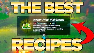 THE BEST Recipes GUIDE in Breath of the Wild - Best Dishes Cooked| Austin John Plays