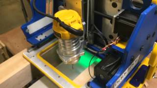Handibot Aluminum Cutting Demo