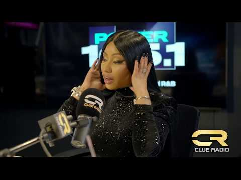 Dj Clue & Nicki Minaj Talk Her New Boo,How Horny Weed Gets Her & Her Album Queen