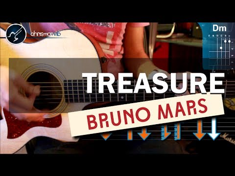 Baixar Como tocar Treasure - BRUNO MARS - en guitarra Acustica (HD) Tutorial