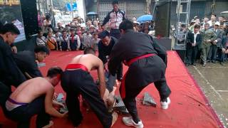Biểu diễn nội công CLB Bình Định Gia Lam Hồng
