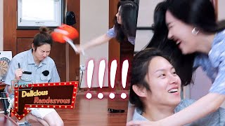 Sunmi and Hee Chul fight for the toy hammer [Delicious Rendezvous Ep 39]