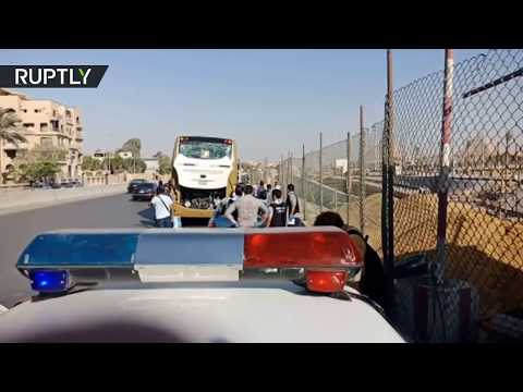 Explosion targeted tourist bus near Giza pyramids in Egypt, at least 16 injured