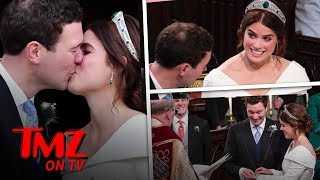 Princess Eugenie & Jack Brooksbank Have A Royal Wedding At Windsor Castle | TMZ TV