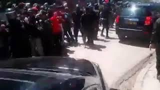 لحظة طرد وزير السياحة عبد القادر بن مسعود بولاية سعيدة ...