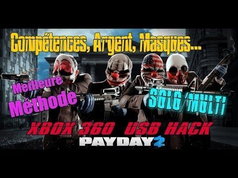 [TUTO] Compétences, Masques, Argent illimité etc... PayDay 2 USB Hack Solo/multi méthode 2