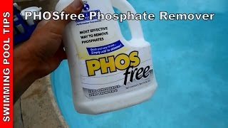 phosphates in pool water