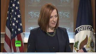 Джен Псаки: США неизвестны факты нарушений Киевом минских договоренностей