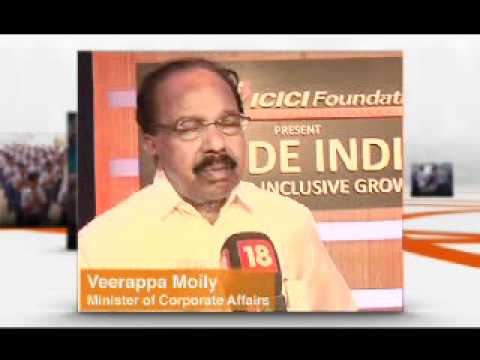 Veerappa Moily on the Inside India Summit