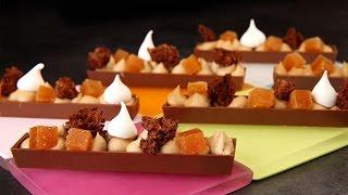 Recettes de cuisine : Meilleur du Chef Barre Snacking au praliné par Philippe Bertrand en vidéo
