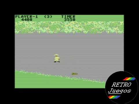 Jungle Hunt (Commodore 64) - Review de RETROJuegos por Fabio Didone