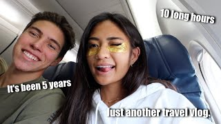 FLYING 10 HOURS TO HAWAI'I (IM COMING HOME!!!)