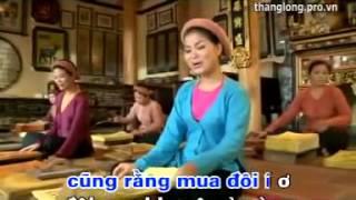 Vốn liếng em có 30 đồng - Karaoke quan họ Bắc Nin - Lương Thu Hồng
