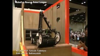Quince, a Japanese rescue robot with extreme mobile manipulation